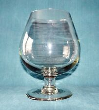 "Vintage Crystal 9.4"" Brandy Snifter Crystal Glass /Vase from France"