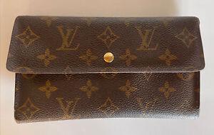 Louis Vuitton Monogram Sarah Wallet Portefeuille