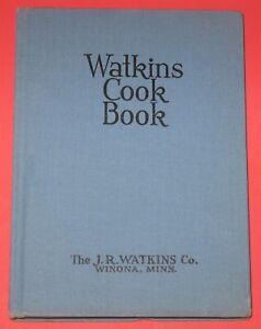 c1943 Watkins Cook Book 4th Edition Hardback COOKBOOK J. R. Watkins Company