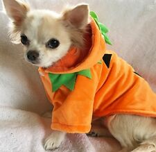 XSMALL PET HALLOWEEN PUMPKIN COSTUME