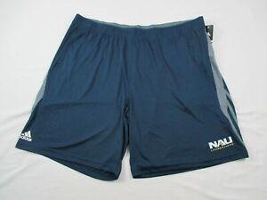 Northern Arizona Lumberjacks adidas Shorts Men's Navy Clima-lite NEW 3XL