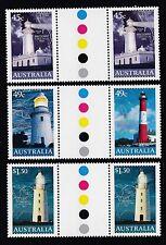 Australia 2002 Light Houses Gutter Pair Set (2165-9GP)