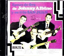 JOHNNY ALBINO Y SU TRIO SAN JUAN  EPOCA DE ORO VOL.2 CD