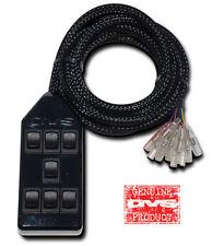 AVS ARC-7-BK Black 7 Switchbox Air Ride Suspension Bag Controller