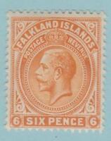 Falkland Islands 34 Mint Hinged OG *  - No Faults! Very Fine