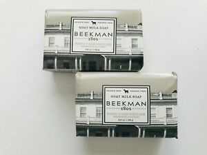 BEEKMAN GOAT MILK SOAP - TRAVEL / PALM SIZE 3.5oz  (Choose Scent ) **PACK of 2**