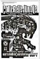 CONCRETE JUNGLE Vol. 1 - RETAILERS REVIEW COPY - ACCLAIM APRIL 1998 - NM - [410]