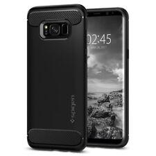 Spigen Rugged Armor Cover Galaxy S8 assorbimento acustico e struttura in fibr...