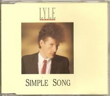 LYLE LOVETT Simple Song 3 track DUTCH 1988 CD EP