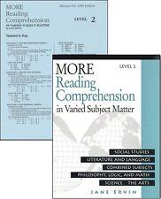 Educators Publishing - More Reading Comprehension Book 2 & Answer Key