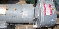 DAYTON REDUCER # A2719A , WITH A GE 1 HP MOTOR