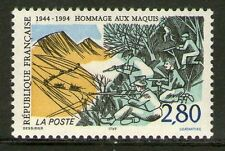STAMP / TIMBRE FRANCE NEUF N° 2876 **  HOMMAGE AUX MAQUIS