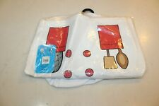 My 1st Career Gear Head Chef Shirt Kids Dress Up Ages 3-5 With Hat