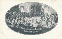 MONTREAL QC – Congres Eucharistique 1910 - Cadets de Quebec