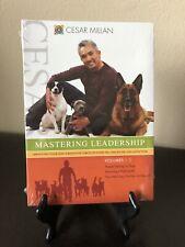 SEALED Cesar Millan - Mastering Leadership: Volumes 1-3 (DVD, 3-Disc Set)