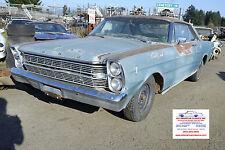 1965-68 Ford Mercury SPINDLE, Drum Brake, Good Used Original, Left