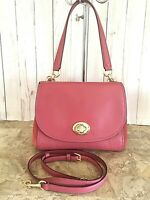 Coach Leather Faye Carryall Crossbody Purse - #F22348