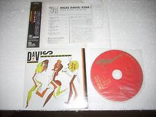 MILES DAVIS - STAR PEOPLE  - JAPAN CD MINI LP opened