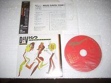 MILES DAVIS - STAR PEOPLE  - JAPAN CD MINI LP opened