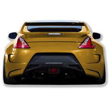 For 370Z 09-18 Nissan AMS GT style fiberglass body kit Rear bumper AMS-82R