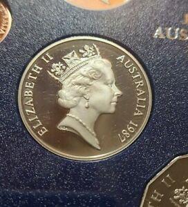 AUSTRALIAN  1987  20 CENT PROOF  Coin