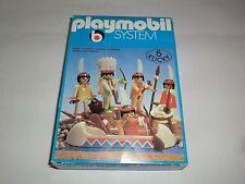 Playmobil Klicky 3251 Indianer Kanu Kajak Kochstelle Western 70er 80er Jahre OVP