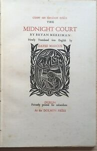 The Midnight Court by Brian Merriman, 1953 - Limited Edition, Michael Biggs
