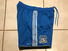 NWT ADIDAS San Jose Earthquakes 2012 MLS BLUE Shorts Men's XL