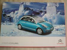 Citroen C3 Pluriel brochure Mar 2009 German text