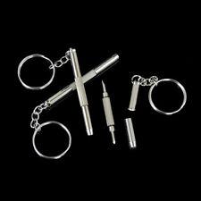 5X 3in1 Mini Screwdriver Tool Repair set keyring for Watch,Glasses,CellPhone .yu
