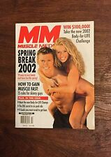 Muscle Media Magazine How to Gain Muscle Fast, Six-pack Abs, Spring Break 2002