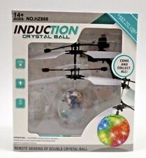New INDUCTION CRYSTAL BALL FLYING TOY - INFRARED  TOY WITH LED LIGHT