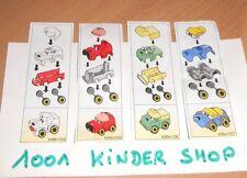 KINDER K99 N°104 105 106 107 - BPZ SET