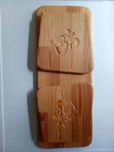 Meditation Stool / Bench Mindfulness Yoga fully Handmade from uk redwood