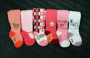Toddler, Baby, Babies Girls Cotton Tights, Stripe, Printed ,Pattern 0-24 Months