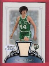 PISTOL PETE MARAVICH GAME USED JERSEY CARD #d199 LSU TIGERS 207 Bowman REFRACTOR