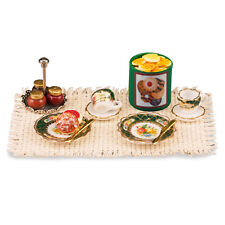 Reutter Porzellan Englische Teetime / Afternoon Dessert Set Puppenstube 1:12