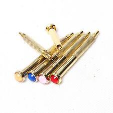 5 X Gold Hand Dangle Piercing Drill Nail Art UV Gel Acrylic Tips Pierce Tool