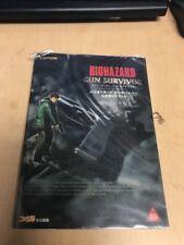 BIOHAZARD Resident Evil Gun Survivor Guide Book Japan PS AP*