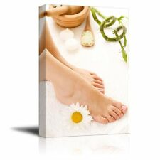 "Canvas Prints - Foot/Feet Spa Beauty Salon | Modern Wall Decor- 24"" x 36"""