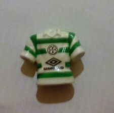 Celtic Football Club de Simon Donnelly 13 Camisa Pluma Topper azúcar soplos 1990s Bhoys