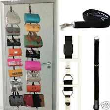 Adjustable Bag Rack Hat Organizer Holds 16 Handbags