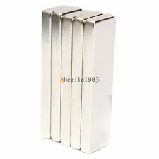 Big Strong Block Rectangle Cube NdFeB Magnets 40x10x4mm Rare Earth Neodymium N52