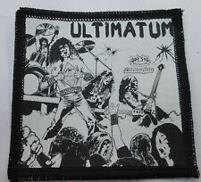 Ultimatum Collectable Vintage Patch Woven English Picture