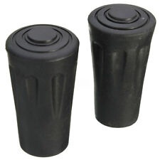 1 Pair Walking Stick Cane Cruth Pad Trekking Hiking Pole Rubber Ferrule End 23mm