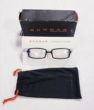 New Gunnar Optiks Anime Computer/Digital Eyewear Glasses Crystalline Lens - Onyx