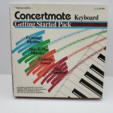 Vintage Realistic 51-1104 Concertmate Keyboard Piano Starter Pack