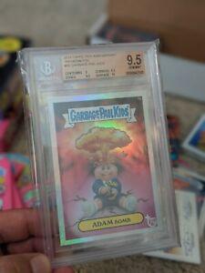 Adam Bomb foil rainbow bgs 9.5 gem mint Topps 75th anniversary Garbage pail kids