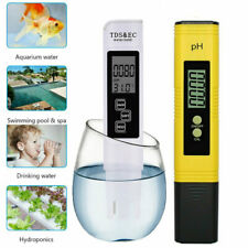 Digital Electric PH/TDS&EC Meter Tester Conductivity Hydroponics Water Test Pen