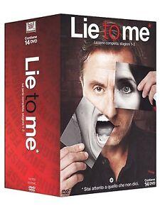COFANETTO DVD - LIE TO ME STAGIONE STAGIONI SERIE 1 - 3 SERIE TV (14 DVD)